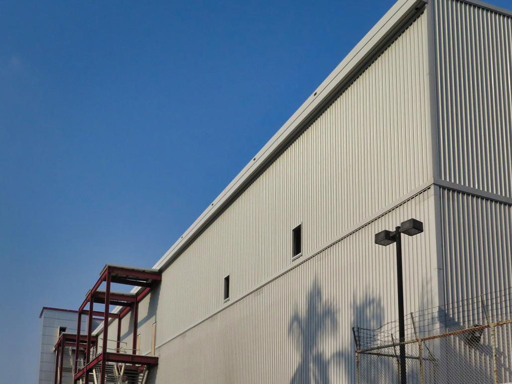 彩色鋼板施工, 屋牆面彩色鋼板6