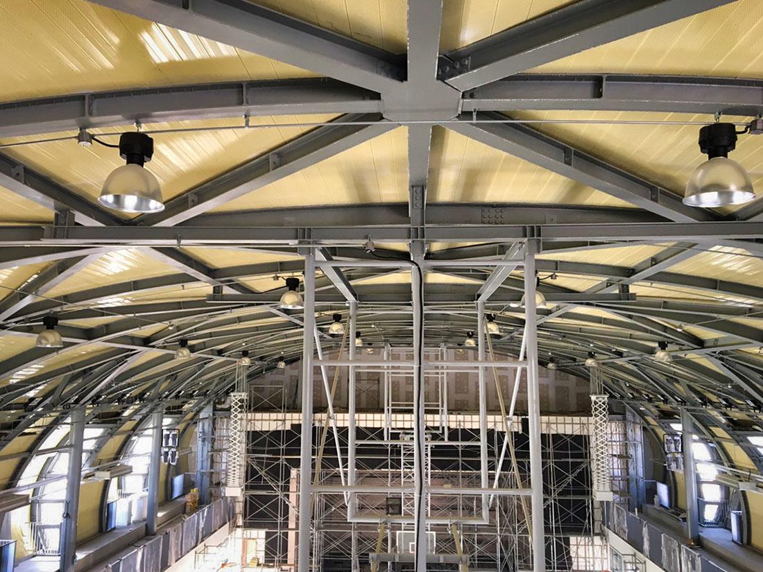 2.5T氟碳烤漆鋁包板, 屋牆面彩色鋼板, 輕質EPS板系統, 鋼板造型11