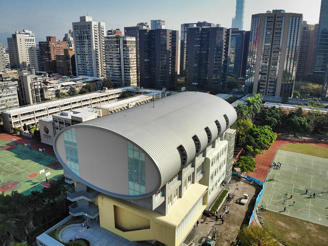 2.5T氟碳烤漆鋁包板, 屋牆面彩色鋼板, 輕質EPS板系統, 鋼板造型9