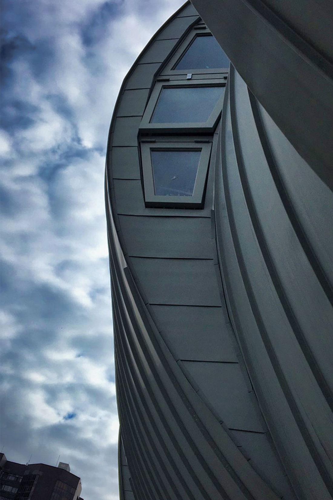 2.5T氟碳烤漆鋁包板, 屋牆面彩色鋼板, 輕質EPS板系統, 鋼板造型