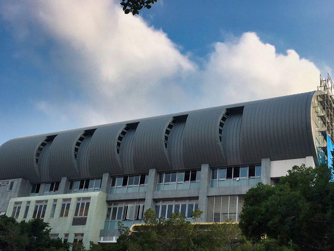 2.5T氟碳烤漆鋁包板, 屋牆面彩色鋼板, 輕質EPS板系統, 鋼板造型6