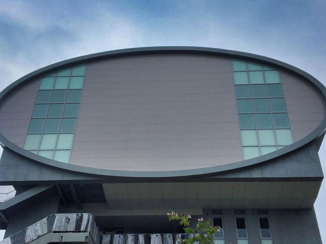 2.5T氟碳烤漆鋁包板, 屋牆面彩色鋼板, 輕質EPS板系統, 鋼板造型5