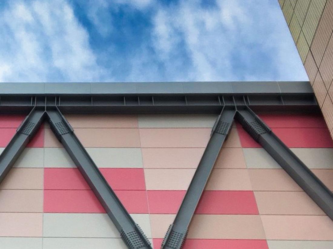 屋牆面彩色鋼板, 彩色鋼板烤漆1