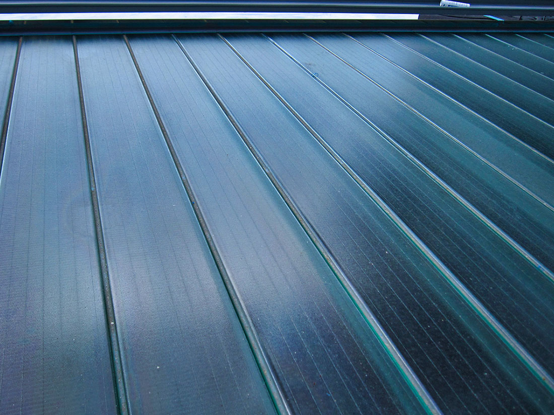 大跨距玻璃, 空間桁架, 屋牆面彩色鋼板0