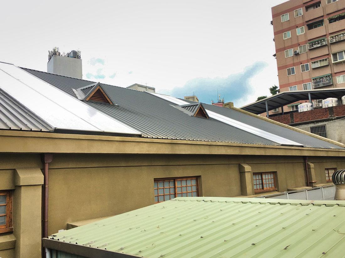 屋牆面彩色鋼板, 彩色鋼板斷面2
