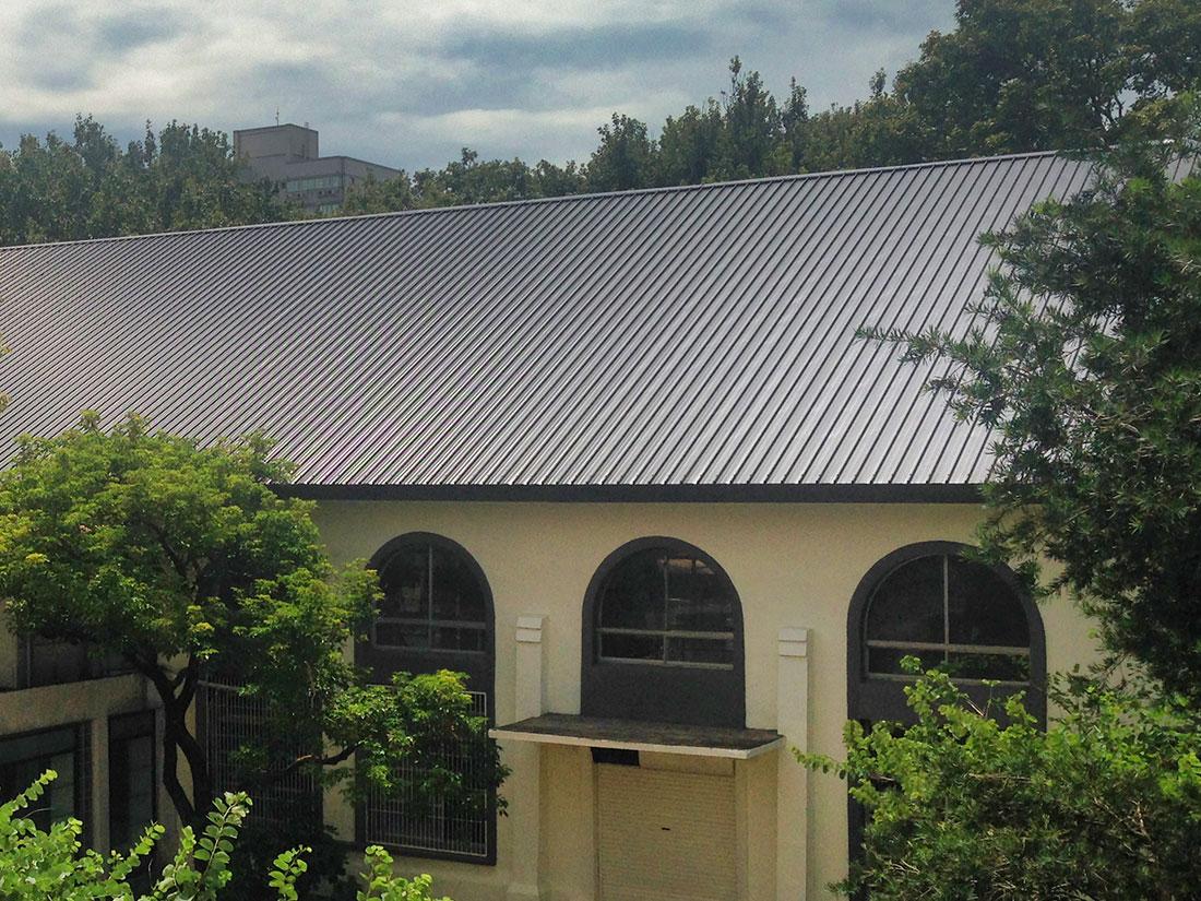 介面整合, 屋牆面彩色鋼板, 抗退色0