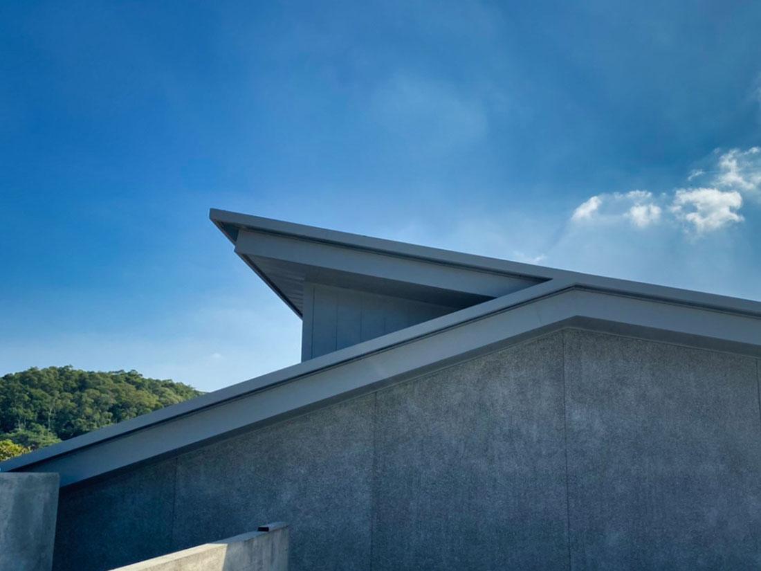 綠建築吸音防火系統, 屋牆面彩色鋼板9