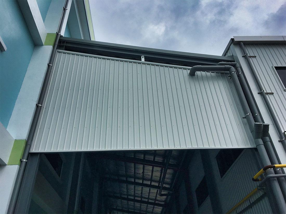 屋牆面彩色鋼板, 施工快速14