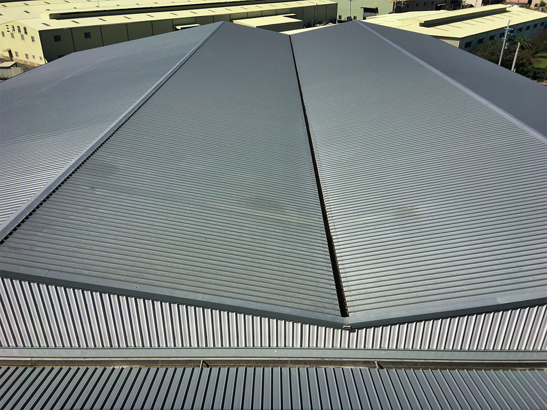 屋牆面彩色鋼板, 施工快速8