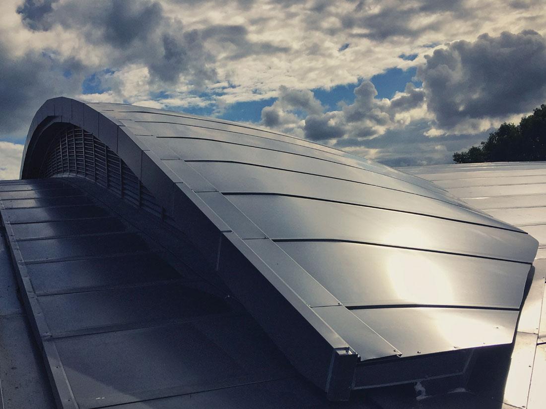 屋牆面彩色鋼板, 屋面不鏽鋼板系統9