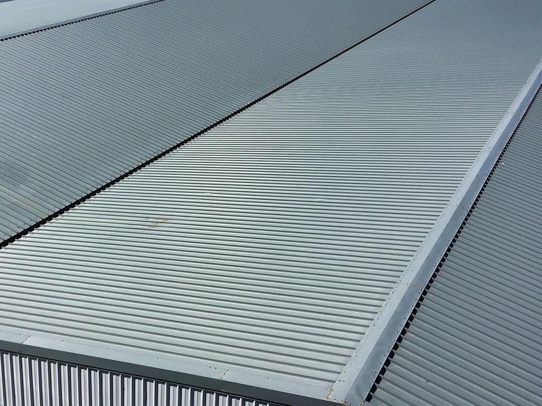 屋牆面彩色鋼板, 施工快速